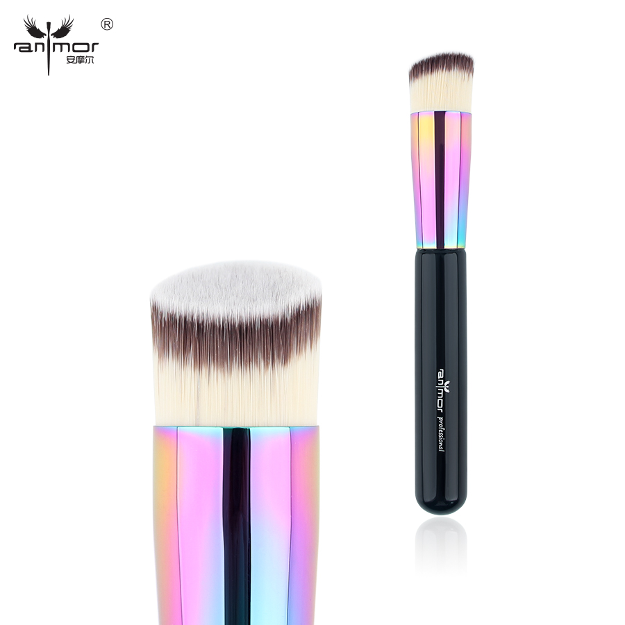Anmor New Foundation Brush Professional Makeup Brushes Perfect for Blending liquid or cream Foundation CFCB-E01 new matrix foundation workbook