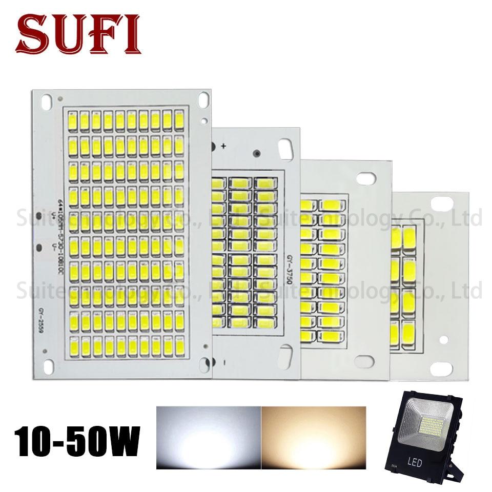 Светодиодный светильник SMD5730 10 Вт 20 Вт 30 Вт 50 Вт светодиодный источник освещения теплый белый чистый белый светодиодный печатная плата для ...