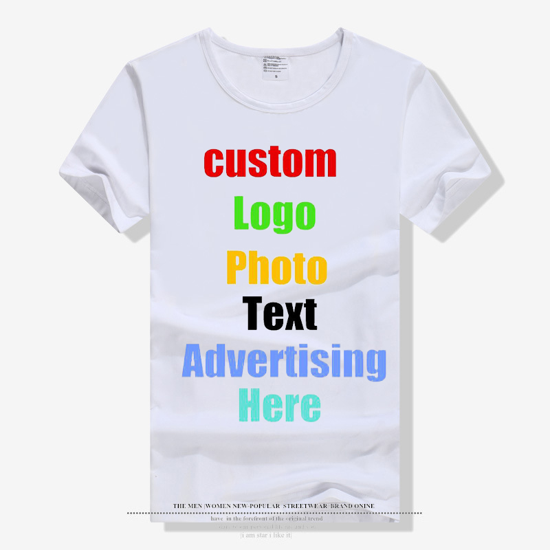2019 Fashion Solid <font><b>Blank</b></font> <font><b>T</b></font>-<font><b>shirt</b></font> for Men Male Unisex Family Custom Logo Photo Text Print <font><b>T</b></font> <font><b>shirt</b></font> Parent Kids Tops <font><b>White</b></font> Tshirt image