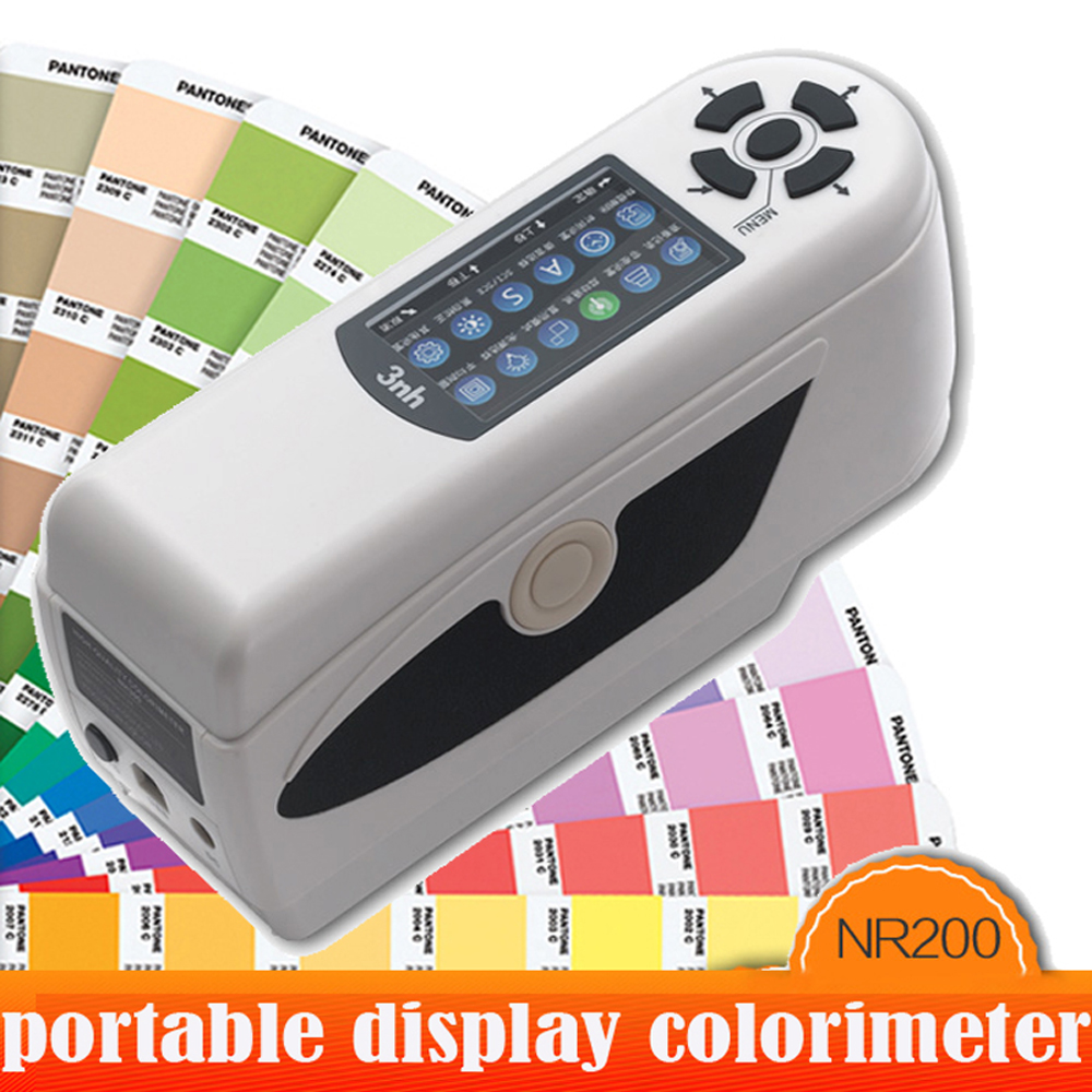 NR200 precision Digital Colorimeter ,Coating Industry Color Analysis Instruments Portabl ...