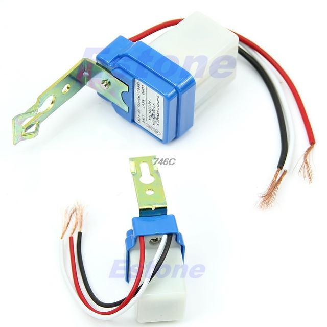 OOTDTY 2018 Automatic Auto On Day Off Street Light Switch 10A Night ...