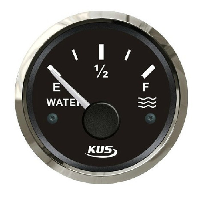 52mm water/liquid tank level gauge for vehienlar marine yacht motorcycle boat car instrument acessories black (240-33ohm) s3 e300mm 0 190ohm float switch fuel water oil liquid tank motion level sensor gauge for auto boat marine car yacht accessories