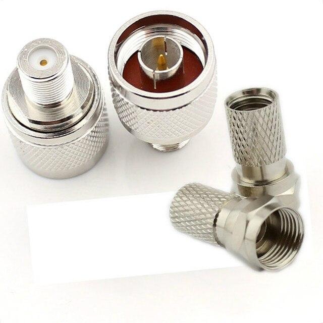 2 bộ/lô RG6 Cáp Đồng Trục N Nam Kết Nối cho Điện Thoại Di Động Điện Thoại Di Động Tăng Cường Tín Hiệu Di Động Repeater Amplifier
