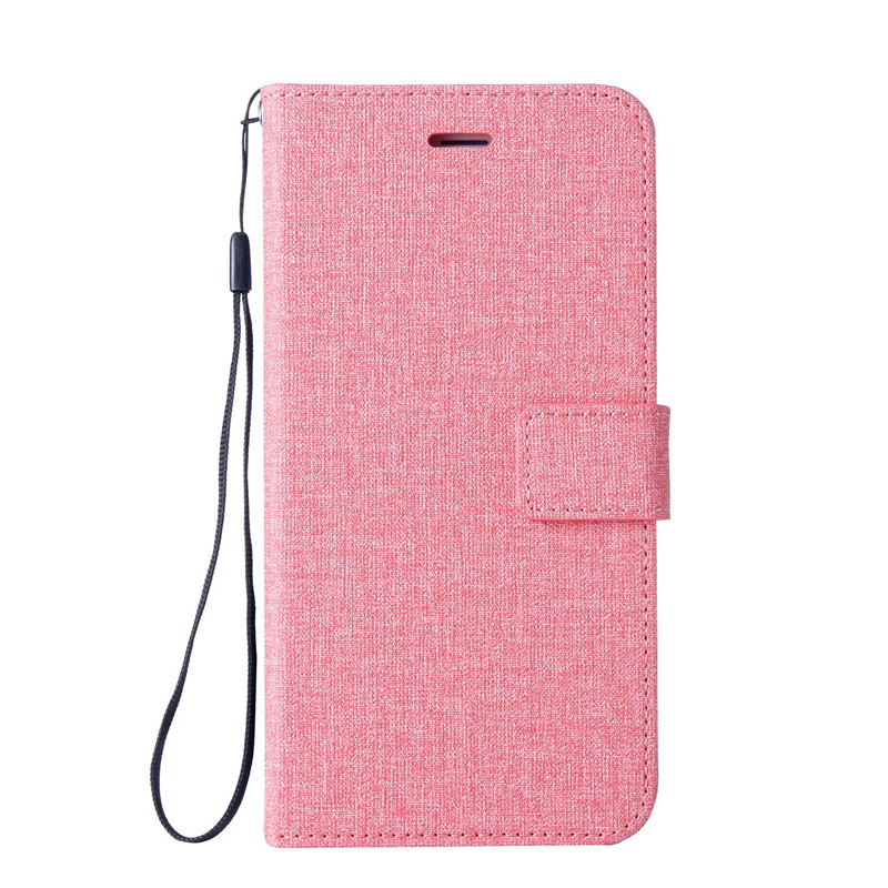 Cotton Fabric Leather Wallet Flip Case For Google Pixel 2 Protection Bumper Shell Cover For Google Pixel 2 Case 5.0 Inch