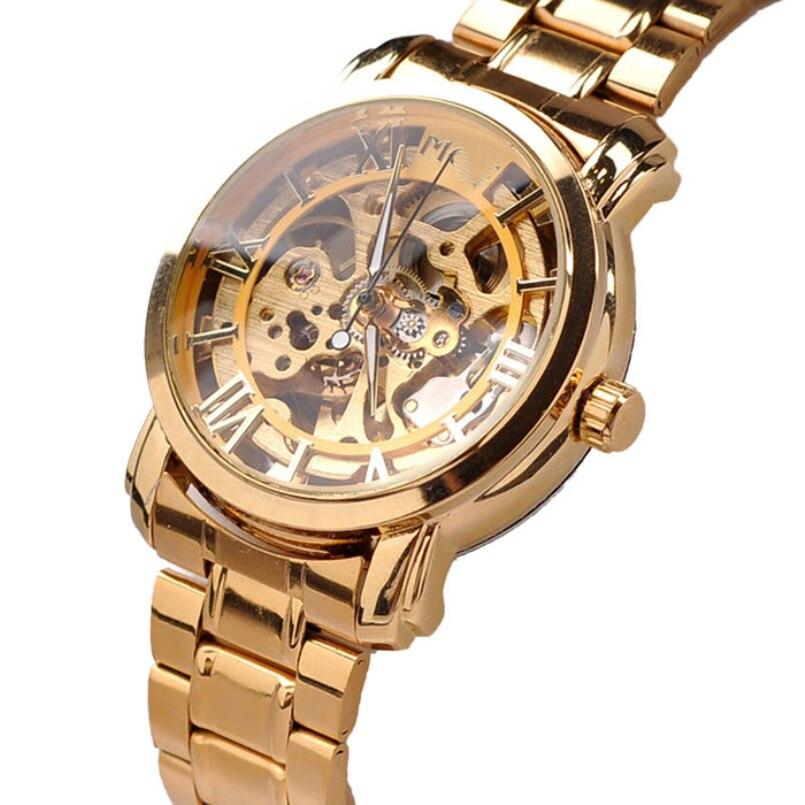 Excellent Quality Men Watch Quartz Steel Band Man Fashion Quartz Watches Waterproof Scratch-Resistant Men Casual Wristwatches