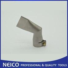 40 мм 60 градусов угловой широкий слот сварного сопла для пластиковых тепловых пушек горячего воздуха