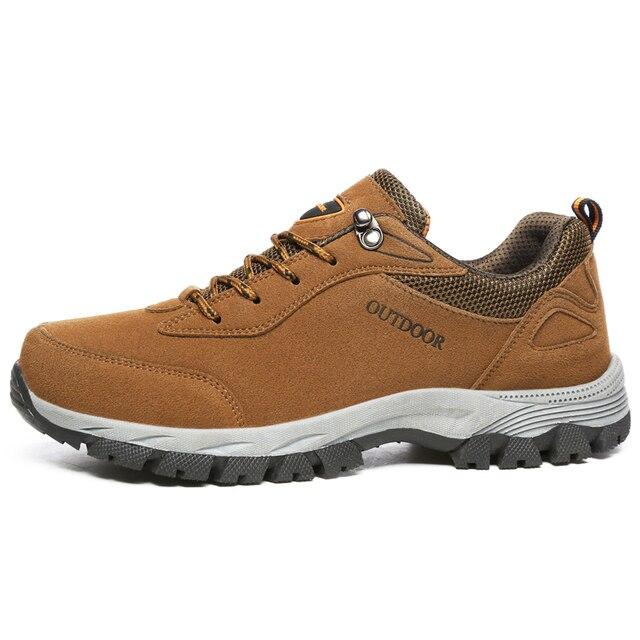 f965ec1676f7 Duży rozmiar Mężczyzna Działający Buty Zimowe Odkryty Wodoodporna Jogging  Sneakers Trekking Walking Buty Sportowe 48-
