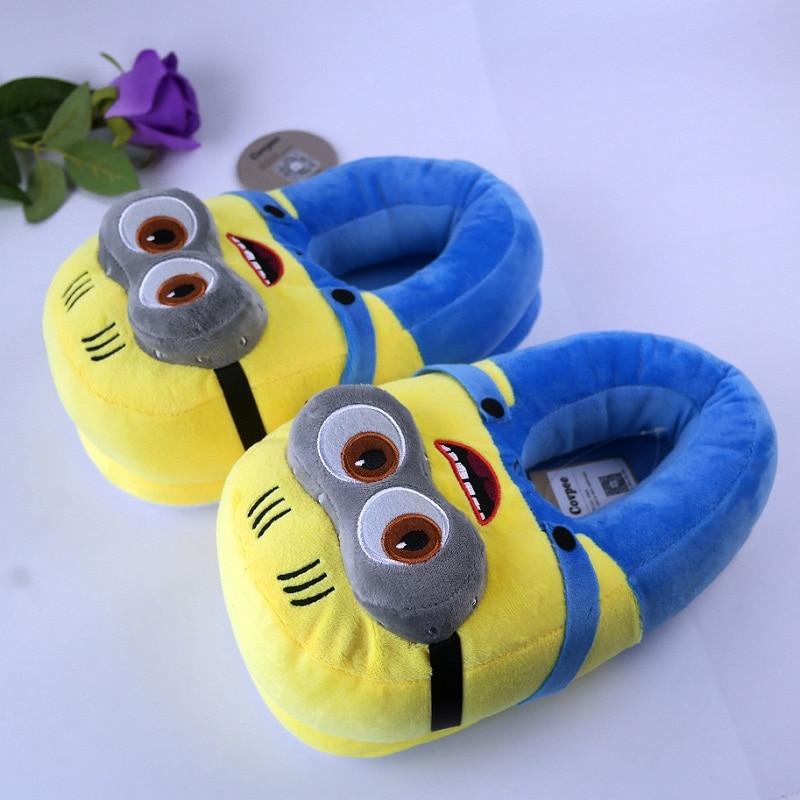 3D minioni papuče zima Zima Topli papuče Despicable Minion Stewart - Muške cipele - Foto 6