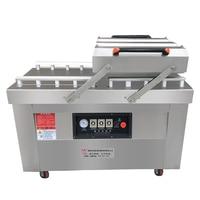 Automatic Vacuum Food Sealer Double Chamber Vacuum Dry Wet Packer Steel Sealing Machine DZ 600