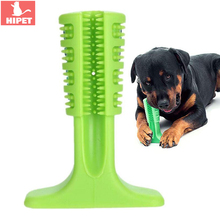 Rubber Dog Toothbrush Stick Pet Tooth Care Teeth Cleaning For Small Medium Large Dogs Puppy Dental Oral