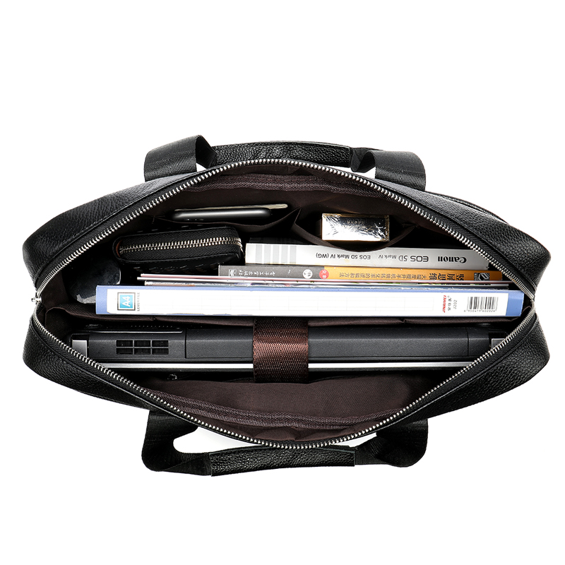 e4e23fc161b8 ... Фото 3 MVA сумка мужская натуральная кожа сумка мужская портфели  кожаные мужские сумка через плечо мужская ...