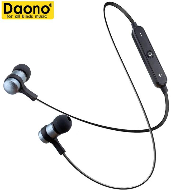 2017 Nuovo Daono S6-1 Cuffie Senza Fili Auricolare Bluetooth Fone de ouvido Per Il Telefono Neckband Écouteur Cuffie Bluetooth V4.2