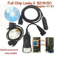 A+++++ Full Chip Diagbox Lexia3 PP2000 V48 V7.83 Scanner PP2000 V25 XS for Citr en/Peuge t Lexia 3 Prefessional Diagnostic Tool