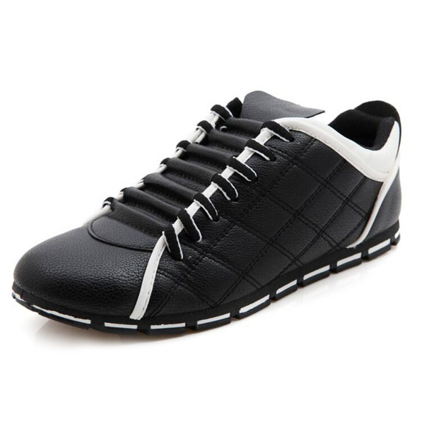 TEXU men England casual fashion non slip breathable  leather shoes 41 Black branded men s penny loafes casual men s full grain leather emboss crocodile boat shoes slip on breathable moccasin driving shoes
