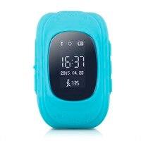Excelvan Q50 Kids Smart Watch GPS LBS Safe Children Watch Activity Tracker 2G GSM Micro SIM