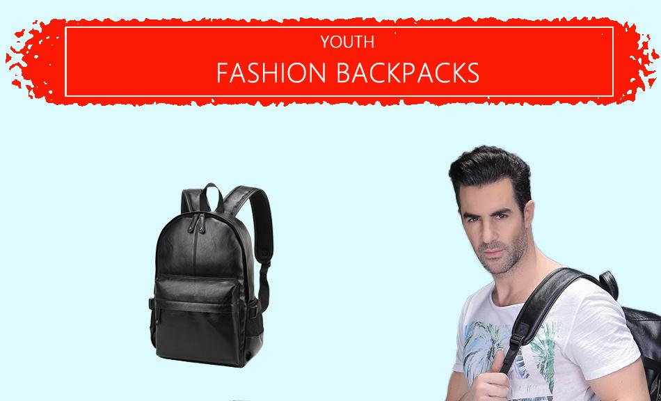vormor элегантный бренд дизайн кожа школа рюкзак сумка колледж для простой дизайн для мужчин прошел рюкзачков рюкзак мужской новый
