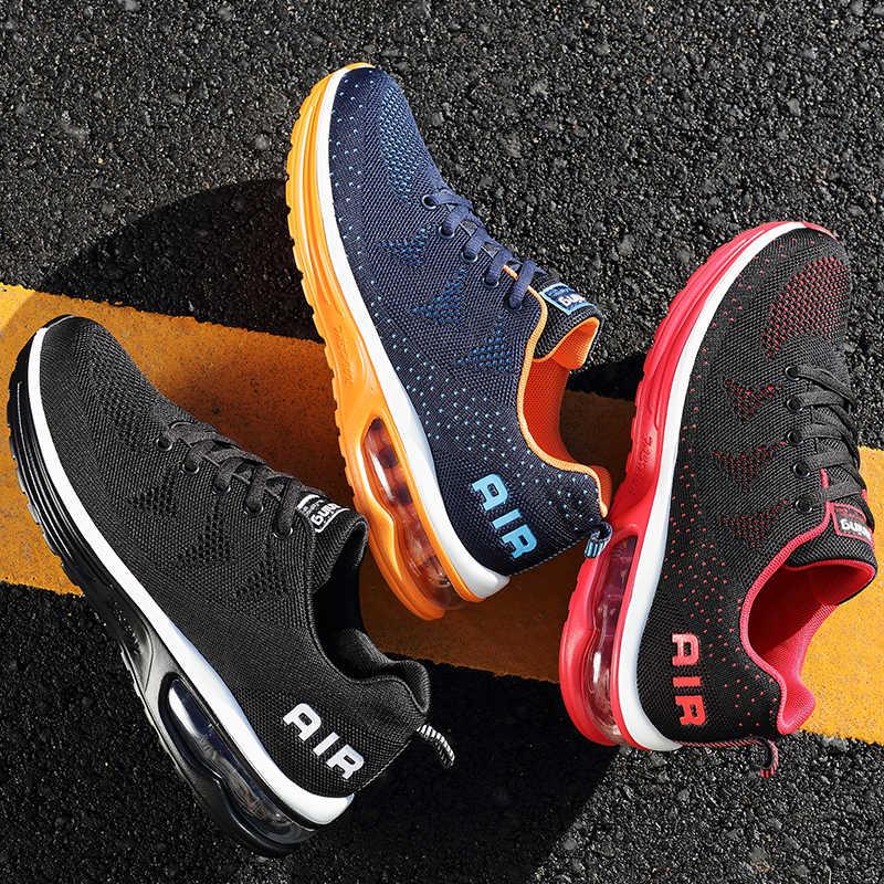 Gran oferta zapatos deportivos para hombre, zapatillas profesionales Onke, para hombre, almohadón transpirable, zapatos para correr para mujer, zapatos de corazón