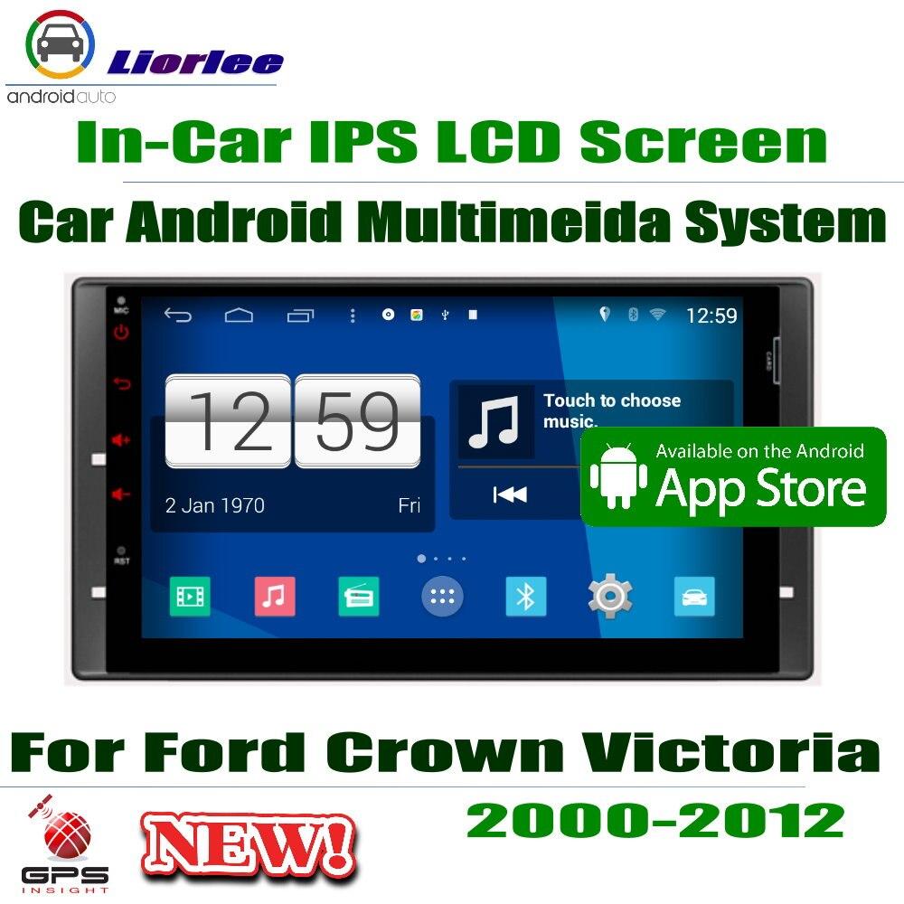 Pour Ford Crown/Victoria 2000 ~ 2009 2010 2011 2012 HD écran Android lecteur multimédia voiture CD DVD Radio système de Navigation stéréo
