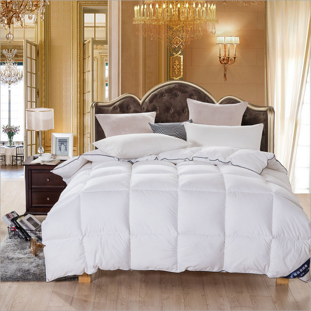 Goose Down Filling Quilt Best Gift For Christmas Comfortable And Warm Blanket Winter