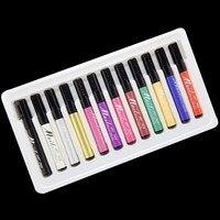 Nail Art 3D Nail Polish Pen DIY Decoration Design Painting Drawing Pen Manicure Kit Set Tools