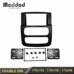 1 или 2 Din Радио Фризовая для Dodge Ram 1500 2500 3500 стерео Панель черточки Установка отделка комплект рама