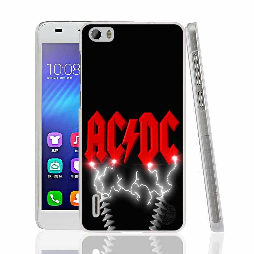 HAMEINUO Ac Dc Black Ice muzyki Heavy Metal taśma zakrywająca etui na Huawei honor 3C 4A 4X 4C 5X6 7 8 Y3 y5 Y6 2 II Y560 Y7 2017