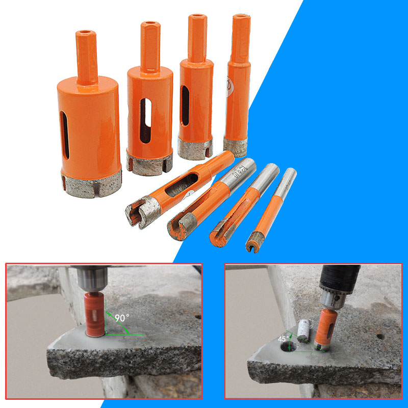 1Pcs 6-38mm Diamond Drill Bit Coated Drilling Hole Cutter For Stone Ceramic Marble Tile Glass Power Tools Hole Saw Set