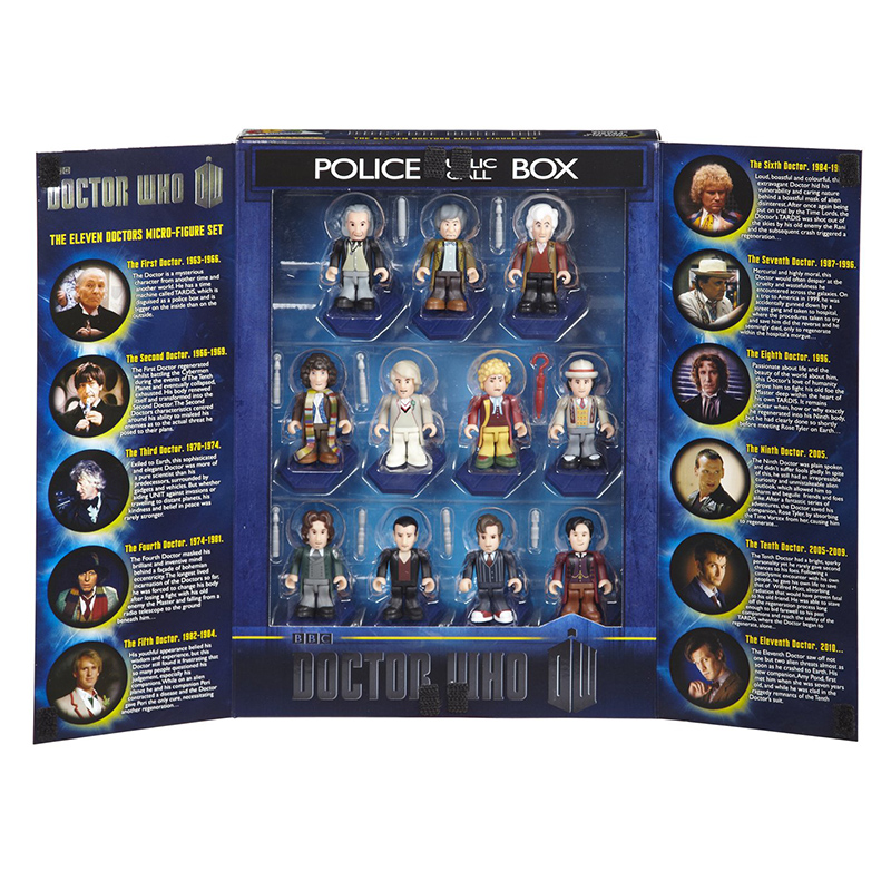 doctor who building blocks The Eleven Doctors Micro Figures Set by Underground Toy doctor who figure