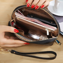 Kobiety portfel kosmetyczka aktor makijaż sprzęgła torba profesjonalny organizery torebki portfel kobiet tanie tanio Clyine Poliester zipper Kieszonka na monety Posiadacz karty Uwaga przedziału Długi Standardowe portfele 17cm Stałe 4 4cm