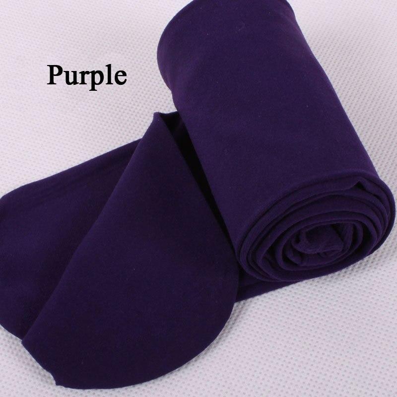 BIVIGAOS модные сексуальные Kawaii милые 120D бархатные бесшовные колготки ярких цветов колготки непрозрачные женские 18 цветов Сексуальные чулки - Цвет: Dark Purple
