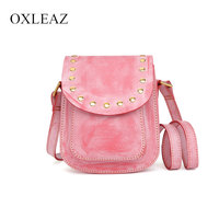 OXLEAZ Fashion Mini Female Genuine Leather Shoulder Crossbody Bag Casual Womens Bags Handbags Ladies Sling Bags for Women