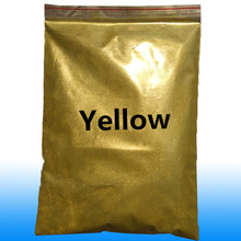 Yellow Pearlescent Pigment Applied in printing ink paint cosmetics plastic leather handicrafts ornaments toys coating