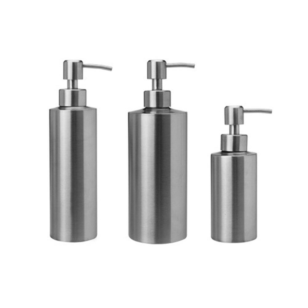 550ml Bathroom Kitchen Hand Soap Dispensers Spray Liquid Soap Dispensers 304 Stainless Steel Bottle Kitchen Sink Replacement