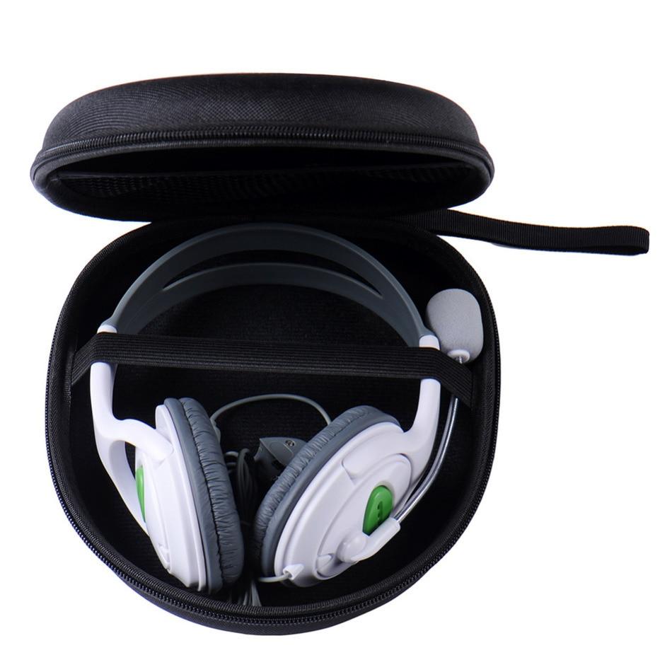 Hordozható fülhallgató táska hordtáska fejhallgató hordtáska a Sony V55 NC6 NC7 NC8 adatvonal tároló táskához fekete fülhallgató tokhoz
