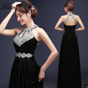 Image 1 - שמלת ערב 2020 משלוח חינם באורך רצפת סאטן סקסי פורמליות לנשף שמלות צד ארוך ערב שמלות