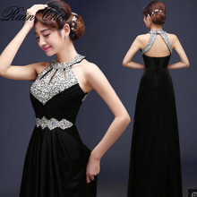 Evening Dress 2020 Free Shipping Floor length Satin Sexy Formal Prom Party Gowns Elegant Long Evening Dresses