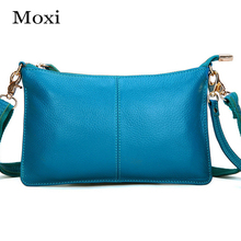 New Women Soft Genuine Leather Women Crossbody Bag Mini Daily Clutch
