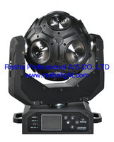 Rasha12pcs*10W 4in1 RGBW LED CosmoPix Moving Head Light With DMX,LCD Dispaly LED Effect Light For KTV DJ Party