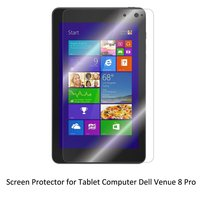 Clear LCD PET Film Anti Scratch Anti Bubble Touch Responsive Screen Protector For Tablet Dell Venue