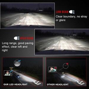 Image 5 - 2Pcs TXVSO8 Car Headlights Led H4 H7 H8/H9/H11 9005 9006 9012 H1 Mini Car Headlamp High and Low Beam 6000k 8000ML Car Accessory