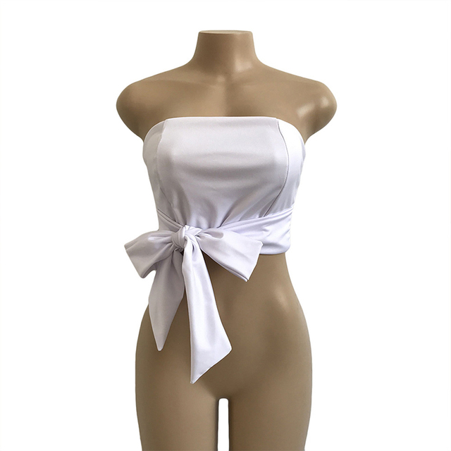 """""""Bow Tie Knot"""" strapless"""