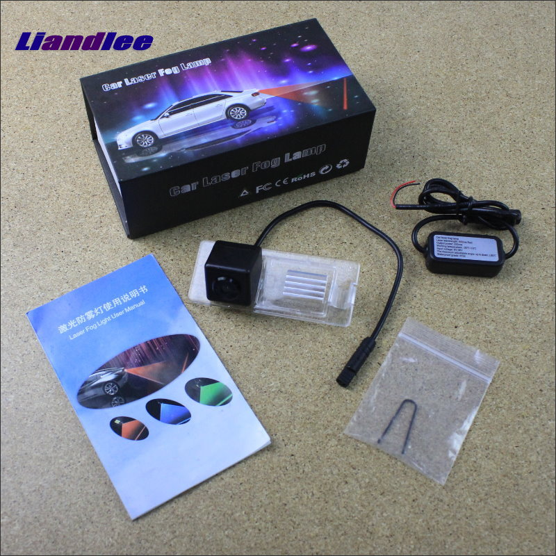Liandlee Pedal Performance Parts For Renault Fluence Laser Shoot Lamp Prevent Collision Warning Lights Fog Tail Decorative Light 1 x motorcycle taillight 12v laser lights change pedal decorative lamp safety warning cross word laser