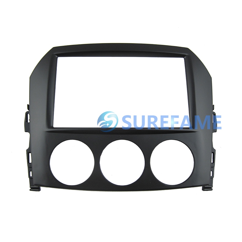 Double Din Car Audio Frame for Mazda MX 5 MX5 Miata 2005 Dash Kit Stereo Adapter