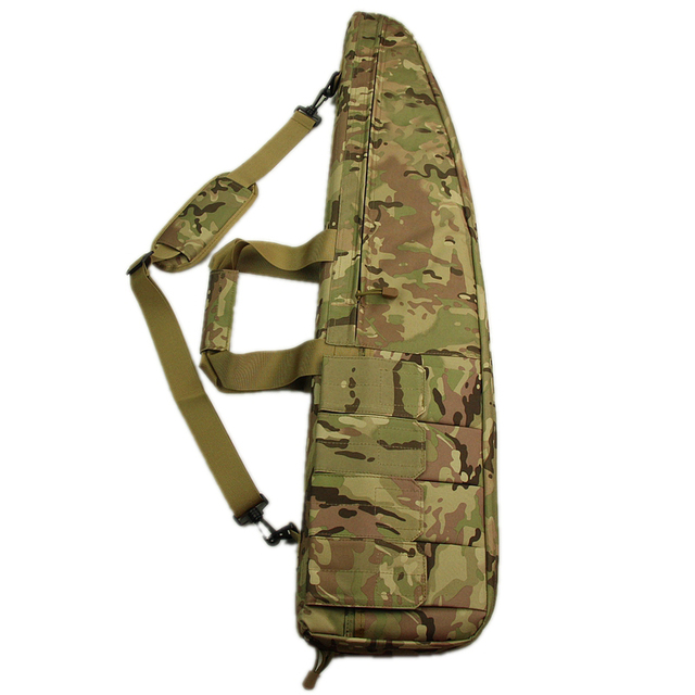 High Quality Cp Camouflage 90cm Airsoft Shotgun Bag Case Tactical Hunting 4 Magazine Pouch