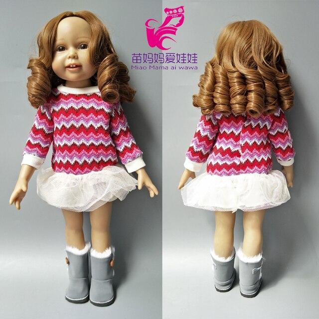 25-28 CM tête taille poupées Blonde vague courte cheveux roms pour 18 pouces fille poupée bricolage cheveux remplacer accessoire de poupée-005