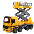 Children's toys inertia the king-size dumper truck forklift truck model car walkers