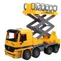 Los niños de juguetes inercia el rey tamaño camión modelo de carretilla elevadora caminantes de coches