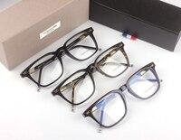 THOM BROWNE Eyeglasses TB402 Prescription Eyeglasses Frames Men Fashion Reading Glasses Computer Optical Frame With Original