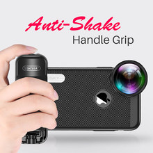 Adjustable Zoom Portabel Bluetooth Selfie Booster Tangan Grip Selfie Video Tripod Mount untuk Iphone Samsung Huawei Xiaomi Pembuat Film(China)