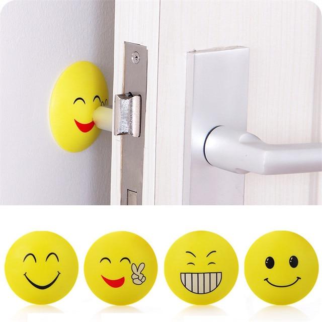 Aliexpresscom Buy 3D Wall Stickers Rubber Door Handle Knob